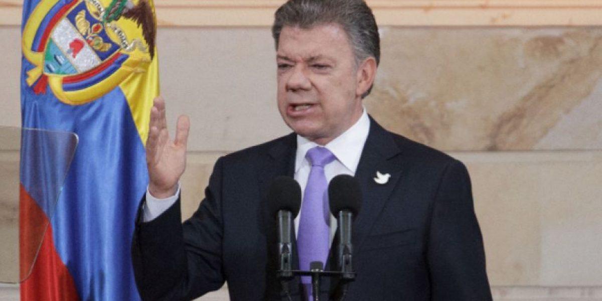 """""""Este Congreso de la paz será ahora el Congreso del posconflicto"""": Santos"""