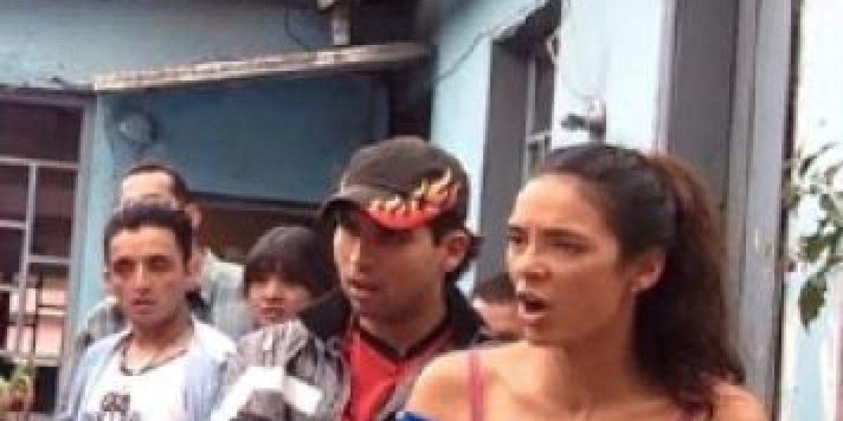Viña Machado hizo un escándalo en un avión