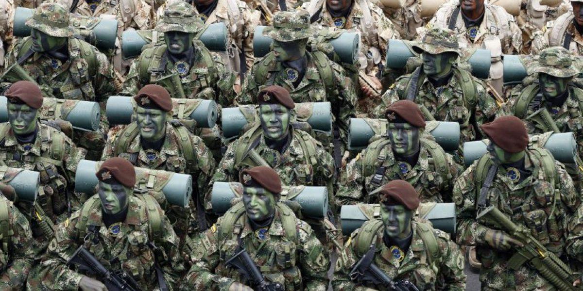En fotos: los momentos más destacados del desfile militar del 20 de julio