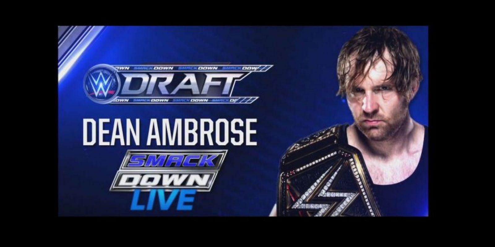 Las estrellas principales de SmackDown: Dean Ambrose Foto:WWE
