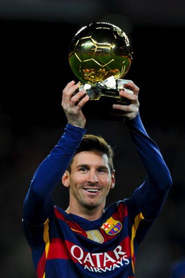 Nadie ha ganado tantos galardones de este tipo como él Foto:Getty Images