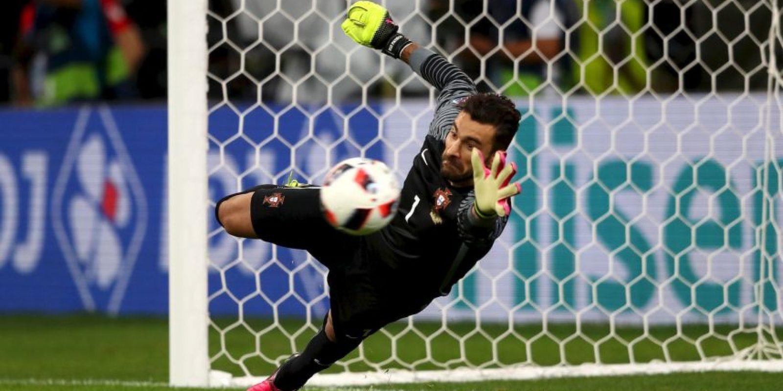 El portero fue clave en el título de Portugal en la pasada Eurocopa Foto:Getty Images