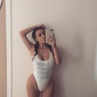 Y mostrando mucha piel Foto:Instagram/@kimkardashian