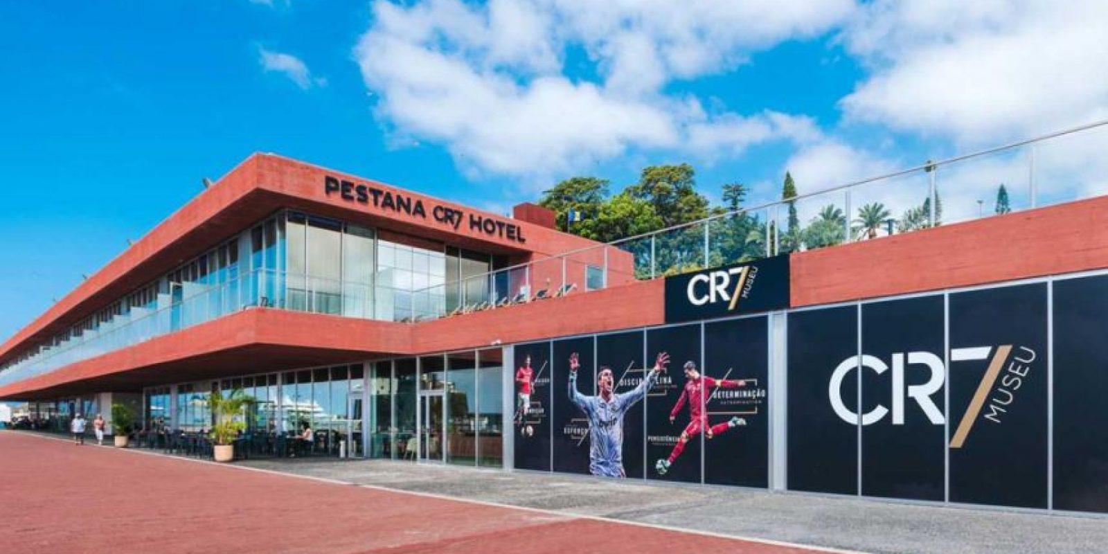 El Pestana CR7 Hotel está a un costado del museo Cristiano Ronaldo Foto:Sitio web Pestana CR7