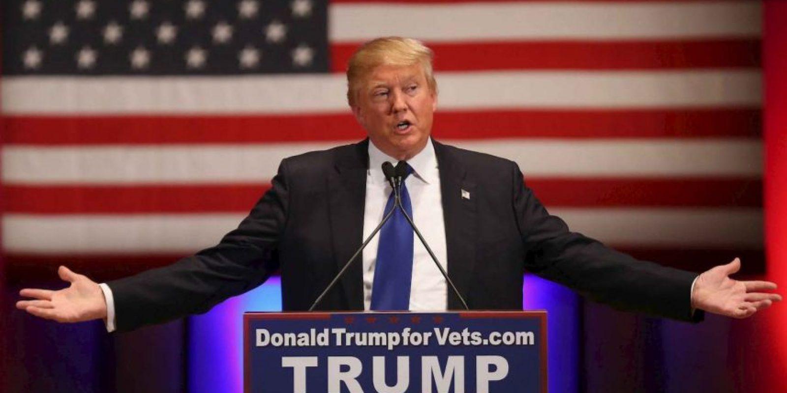 Donald Trump ha lanzado fuertes críticas hacia los inmigrantes indocumentados, particularmente a los musulmanes y a los mexicanos. Foto:Getty Images