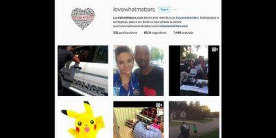 Love What Matters es una organización que se dedica a difundir imágenes y videos de actos de bondad captados por usuarios de las redes sociales en el mundo. Foto:Reproducción Love What Matters