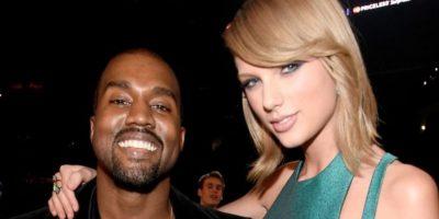 Hubo polémica, pero él insistió en que Swift le había dado su aprobación y ella negó haber escuchado la letra. Foto:Getty Images
