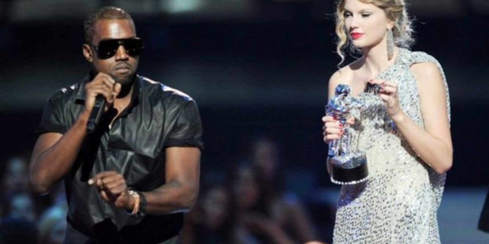 """Sin embargo, Taylor desmintió tal aviso de Kanye para llamarla """"perra"""" publicamente. Foto:Getty Images"""