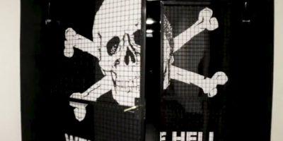 'Welcome to hell', es el emblema que recibirá Foto:Captura de pantalla