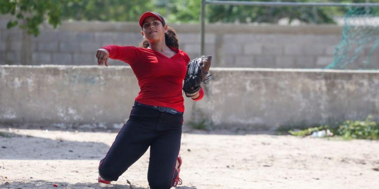 Sofbolista, Mayra Vidal Foto:César Nigrinis Name