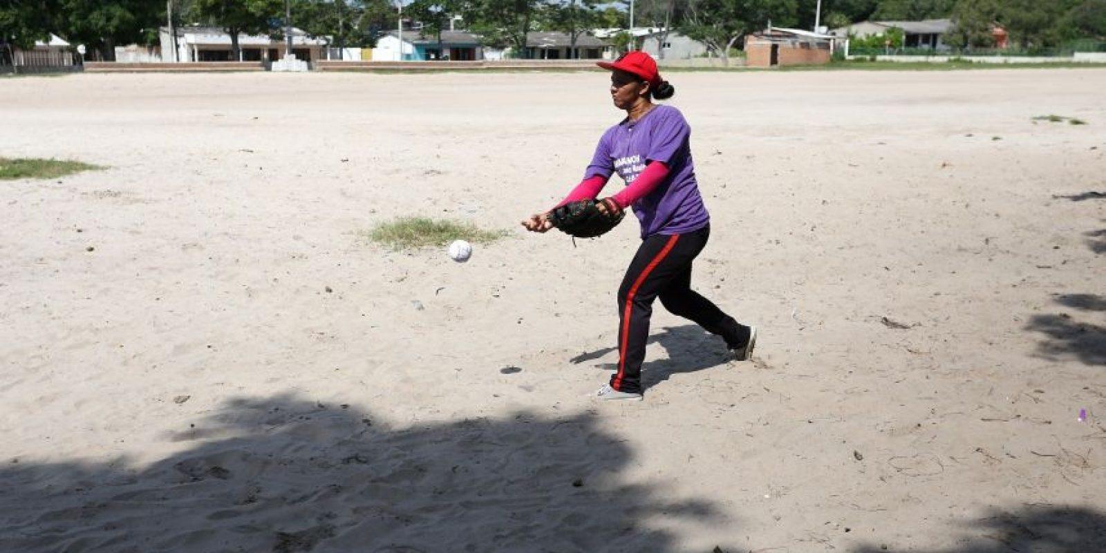 Ingrid Muñoz, madre de Juan Plata, niño de la Selección Atlántico. Foto:César Nigrinis Name