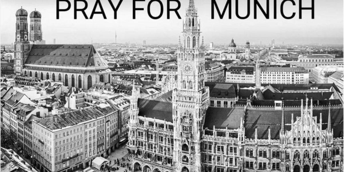 #PrayForMunich: El mundo se solidariza con Alemania por tiroteo