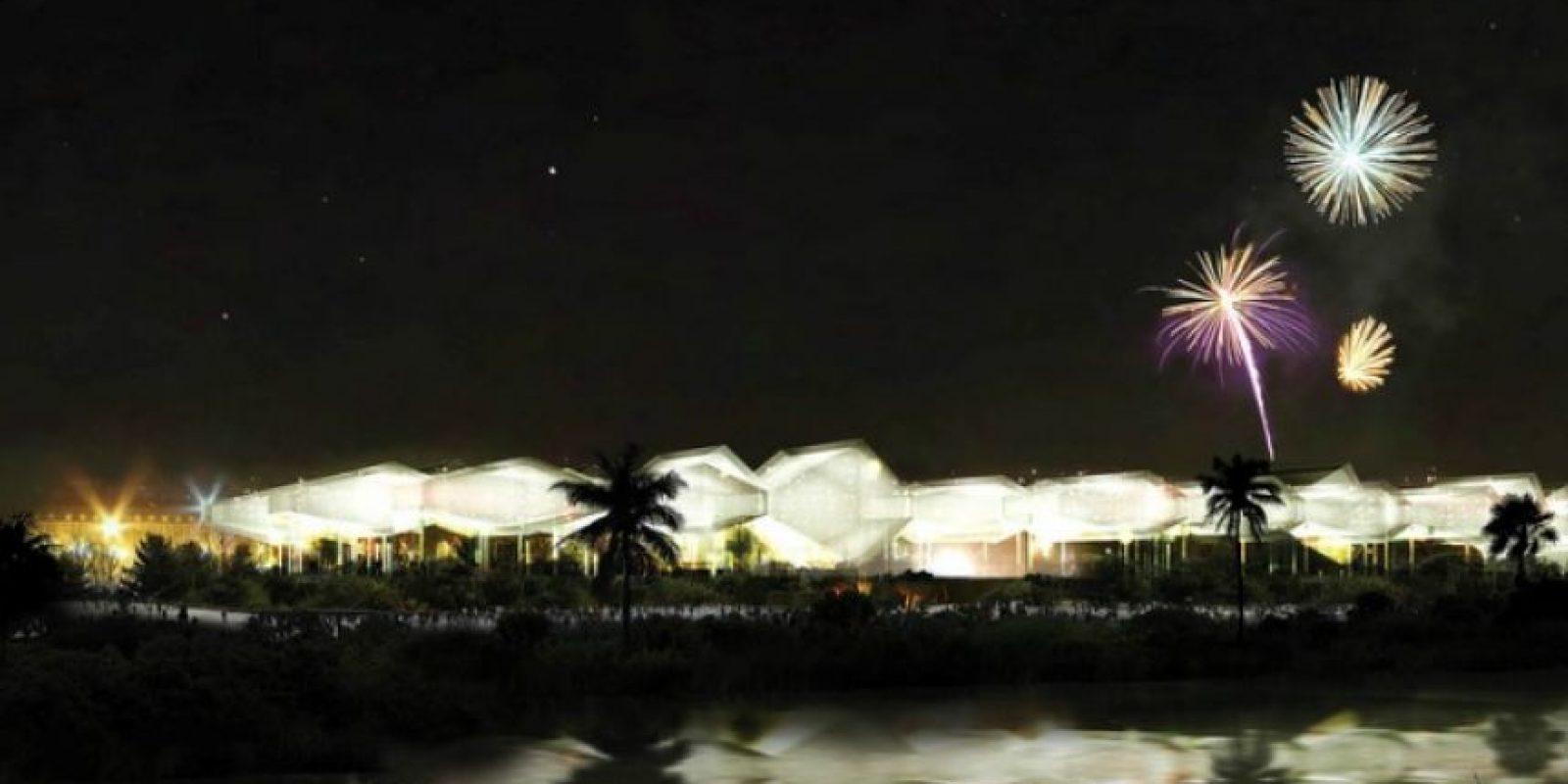 Centro de Eventos del Caribe de Giarcarlo Mazzanti. Foto:Alcaldía de Barranquilla