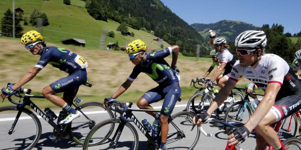 Nairo Quintana asegura podio; Jarlinson Pantano, segundo en la etapa 20