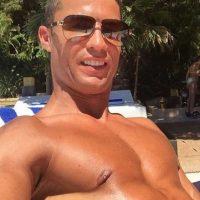 """""""CR7"""" también estuvo en Ibiza. Foto:Vía instagram.com/Cristiano"""