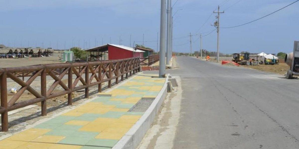 Puerto Velero estrena obras para recibir al turismo, en Atlántico