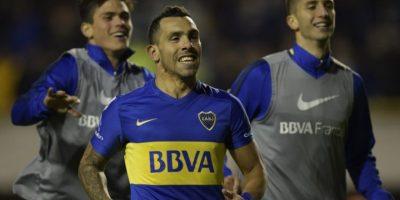 Desde que volvió a Boca en 2015, Carlos Tevez ha marcado nueve goles en el torneo local y cinco en la presente edición de la Copa Libertadores, donde quedaron eliminados en semifinales Foto:AFP