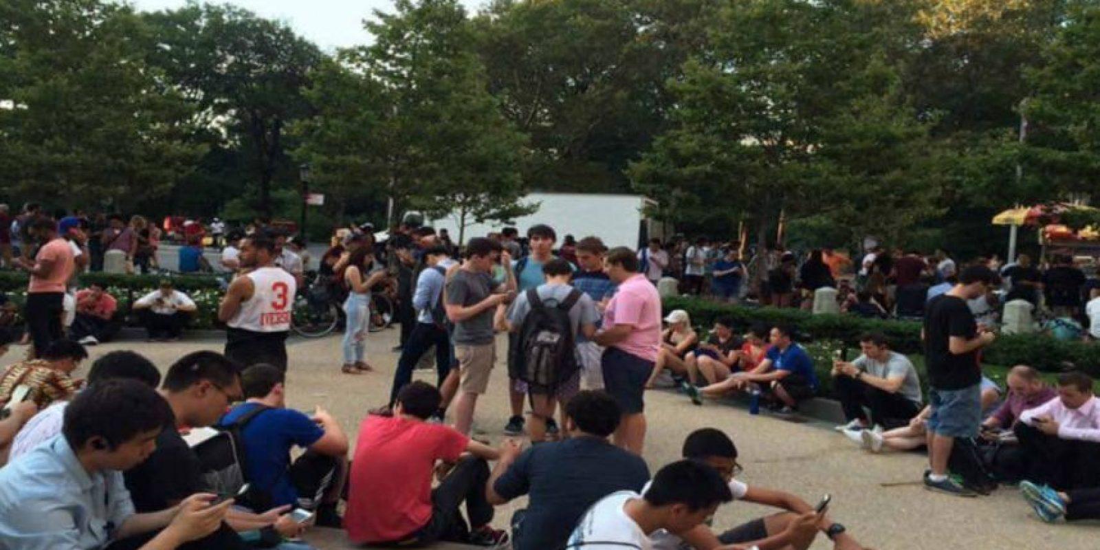 El Parque Centran de Nueva York es el principal cuartel general. Foto:Twitter