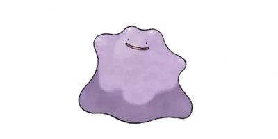 6.- Ditto. Si bien no es legendario, es igualmente difícil de capturar en Pokémon Go. Foto:Pokémon