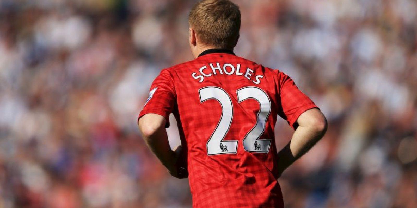 Paul Scholes es uno de los que no está contento con el precio de Pogba Foto:Getty Images