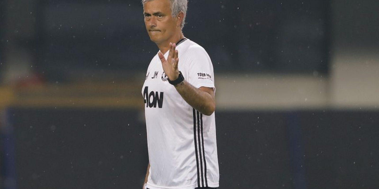 Mourinho y Guardiola se iban a reencontrar en el primer clásico de Manchester de la temporada Foto:Getty Images