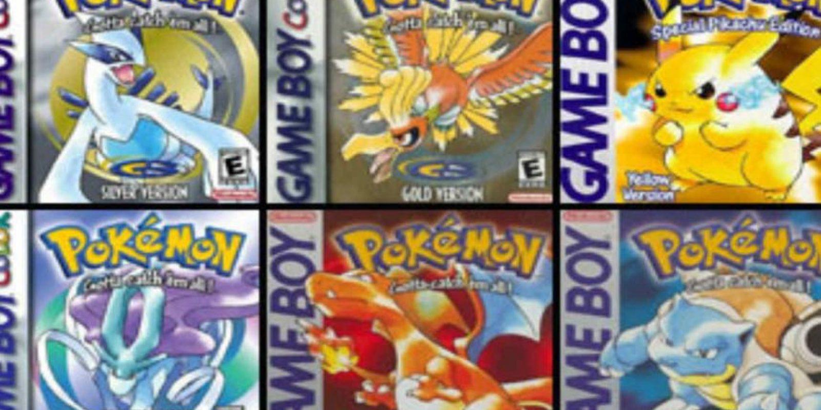 Pokémon Go viene de una larga saga de videojuegos. Foto:Pokémon