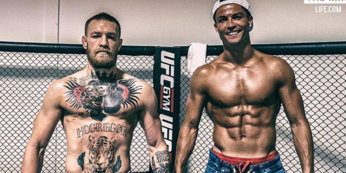 Cristiano Ronaldo se mete a la jaula de UFC con Conor McGregor