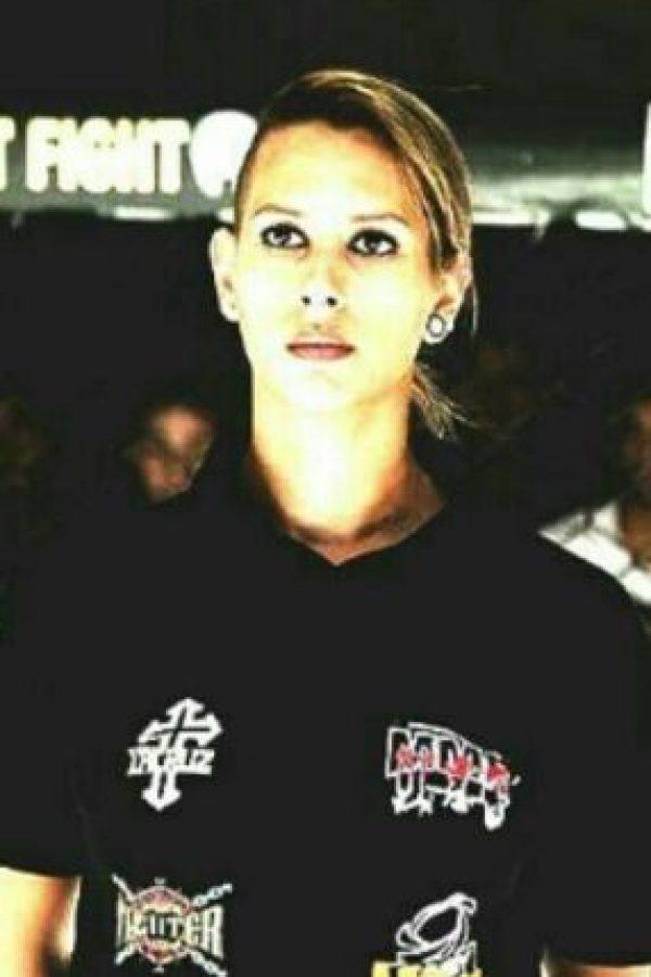 Charyana Gamballe, la réferi que evitó una desgracia en las MMA Foto:Vía instagram.com/charyanagc/