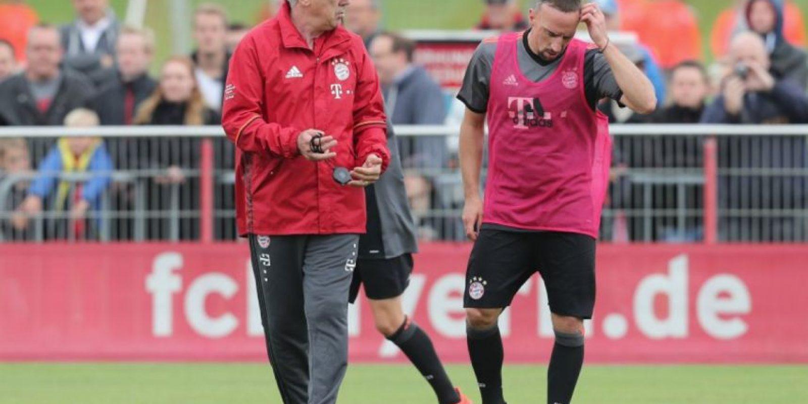 Indicó que la llegada de Ancelotti era un regalo para el Bayern Foto:Getty Images