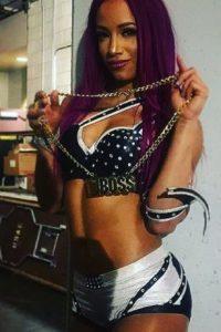Pelea en WWE desde 2012 Foto:Vía instagram.com/sashabankswwe