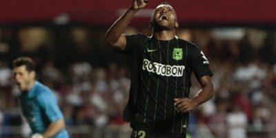 Atlético Nacional, en tanto, llegó al partido decisivo tras ganarle a Sao Paulo Foto:EFE. Imagen Por: Imagen: