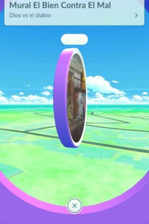 """Y hay """"poképaradas"""" en lugares específicos. Foto:Pokémon Go"""