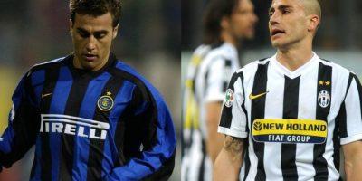 Fabio Cannavaro es recordado en Italia como un fiero defensor e integrante de aquel plantel de Parma que brilló en Italia. Sin embargo, para los hinchas de Inter de Milán, club donde jugó desde 2002 hasta 2004, es recordado por fichar en Juventus, donde estuvo de 2004 a 2006 y 2009/10 Foto:Getty Images