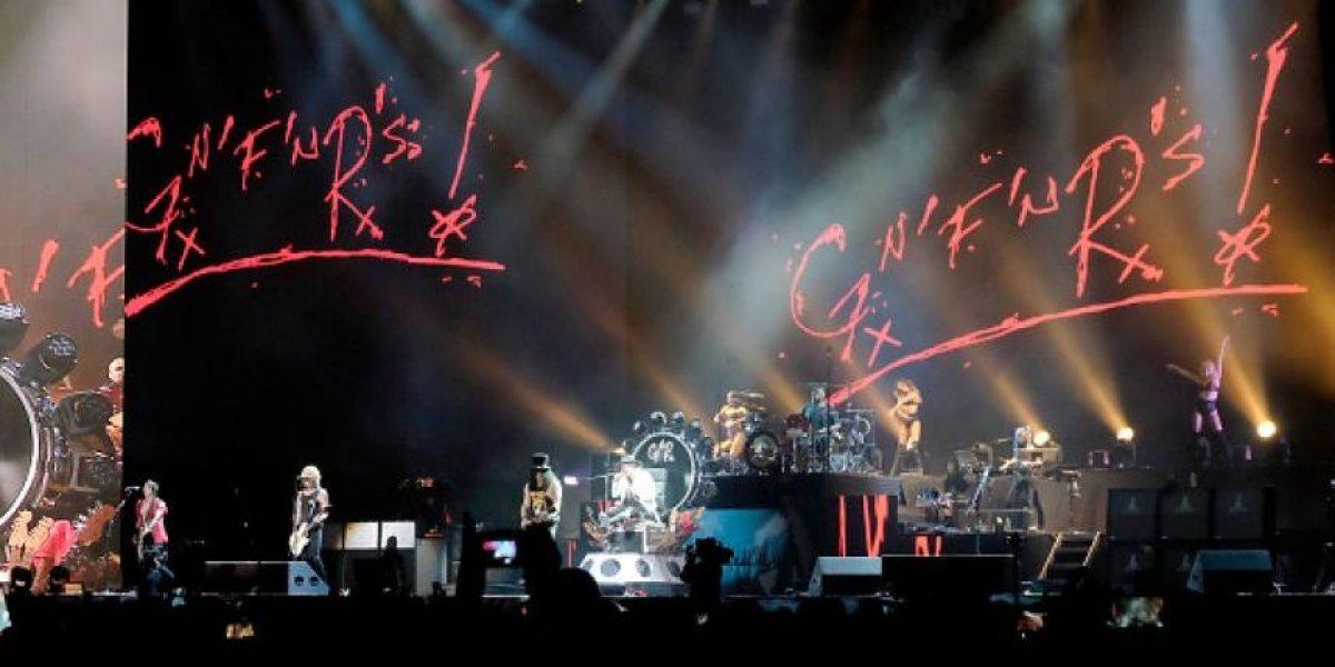 Hoy inicia la venta general de boletas para el concierto de Guns N