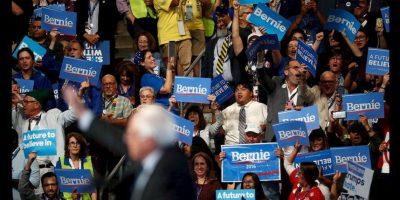Bernie Sanders fue uno de los oradores más aclamados de la Convención Nacional Demócrata. Foto:Getty Images