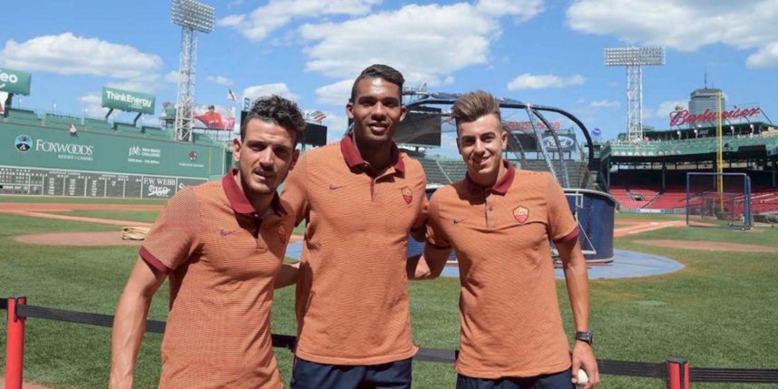 Roma ha sido otro de los equipos que ha tenido harta acción en el verano y contrató a jugadores como Stephan El Shaarawy, adquirieron a Edin Dzeko y Mohamed Salah tras su préstamo en la temporada pasada Foto:Twitter Roma