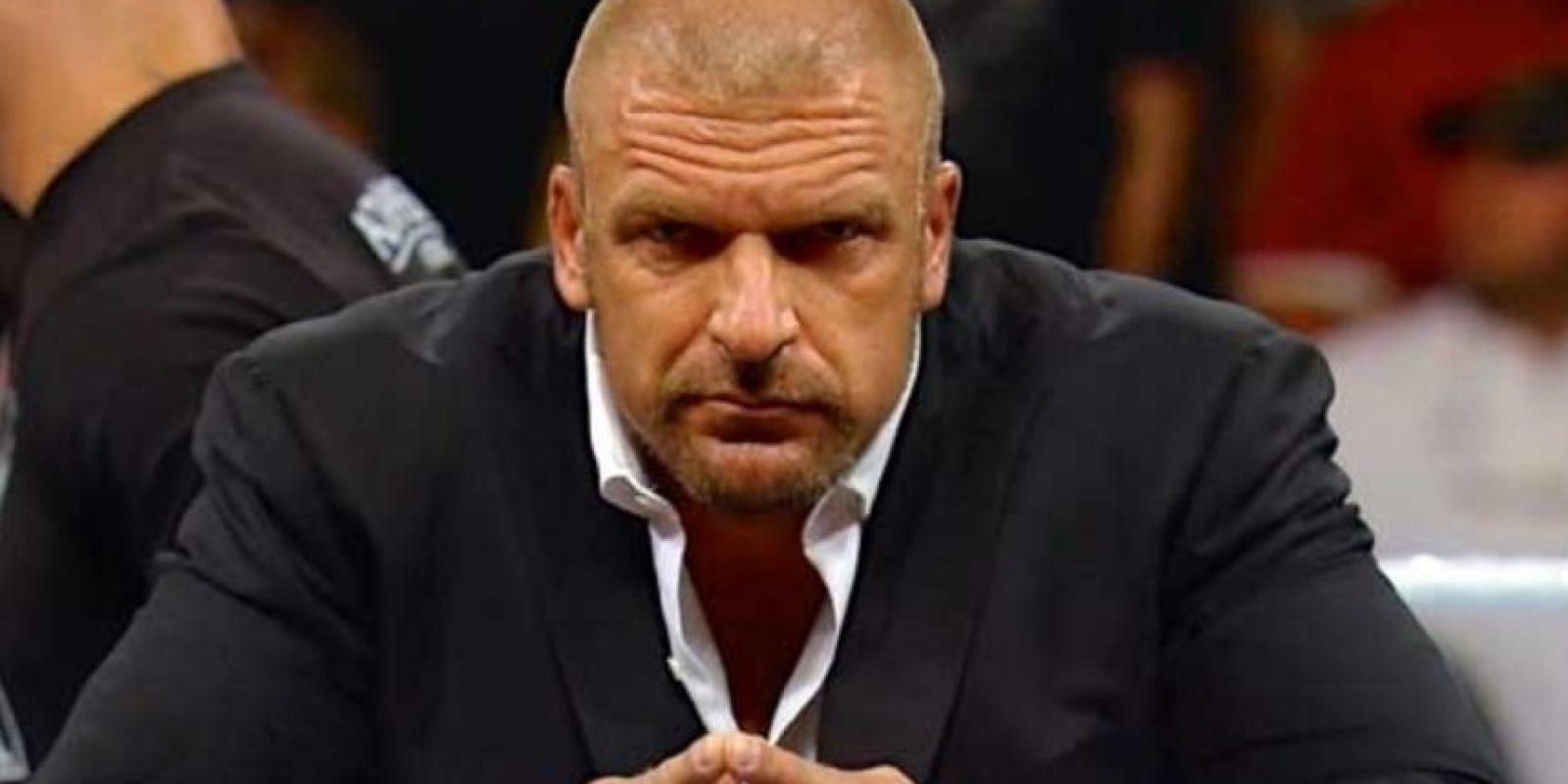 Triple H. No ha visto acción desde Wrestlemania 32 y podría dedicarse de lleno a su trabajo como Jefe de Operaciones Foto:WWE