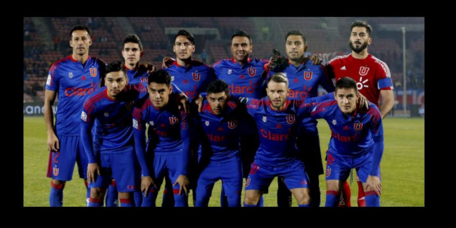 7. Universidad de Chile – 11 Foto: Twitter