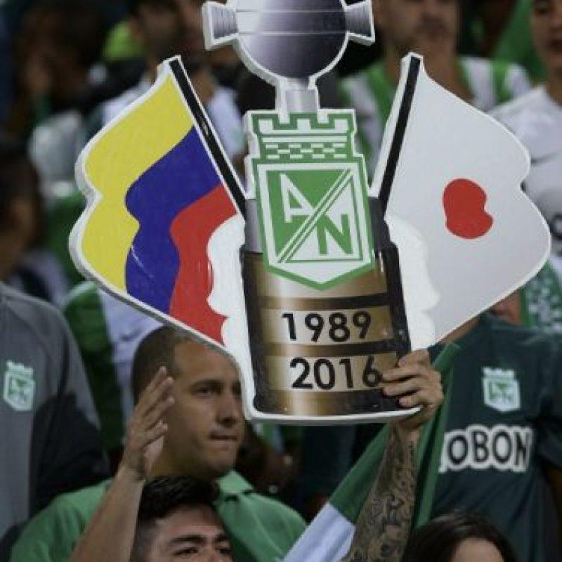 Atlético Nacional ganó la Copa Libertadores después de 29 años Foto:AFP