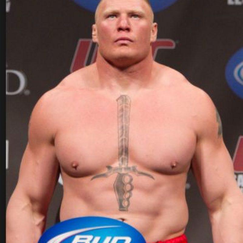 Brock Lesnar dio dos positivos en UFC Foto:WWE