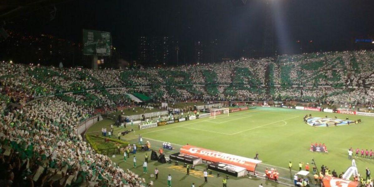 El espectacular tifo de los hinchas de Nacional en la Libertadores