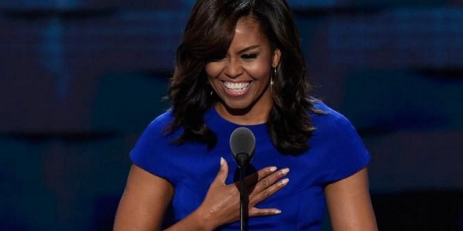 Michelle Obama también dio un discurso empoderador sobre la raza y también sobre la historia estadounidense. Foto:Getty Images