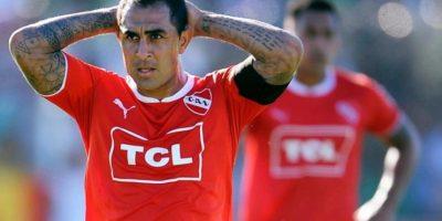 Formó parte de Independiente de Avellaneda en 2000, después se fue a la aventura europea. Pero en 2006 el club argentino lo recuperó por 3.5 millones de euros que pagó a River Plate Foto:Getty Images