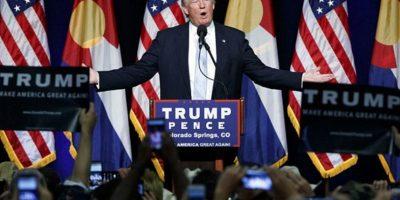 """Trump afirma que ya no será """"bueno"""" con Hillary. Foto:Getty Images"""