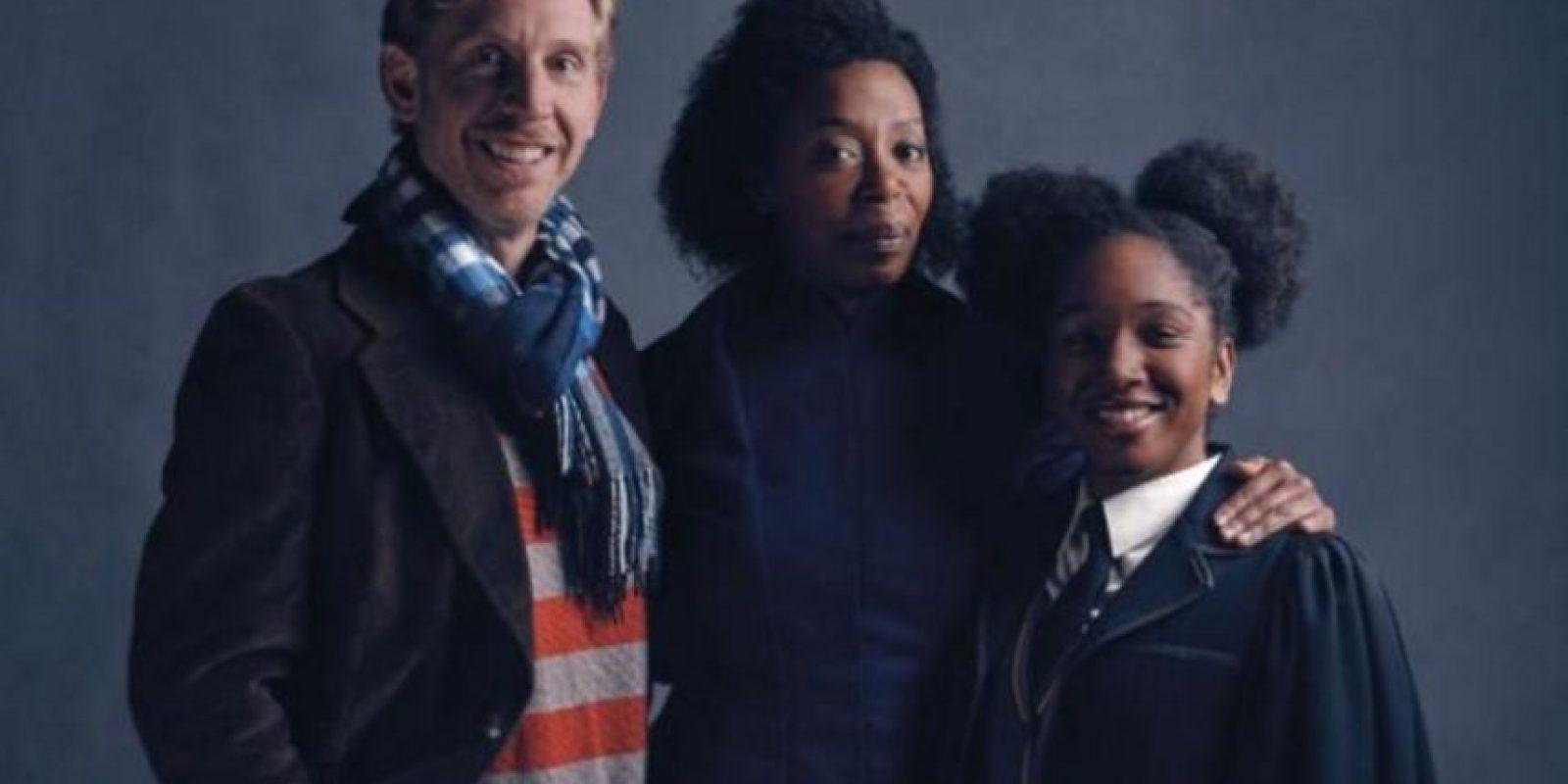 Hermione causó revuelo por ser afroamericana. Foto:London Palace Theatre