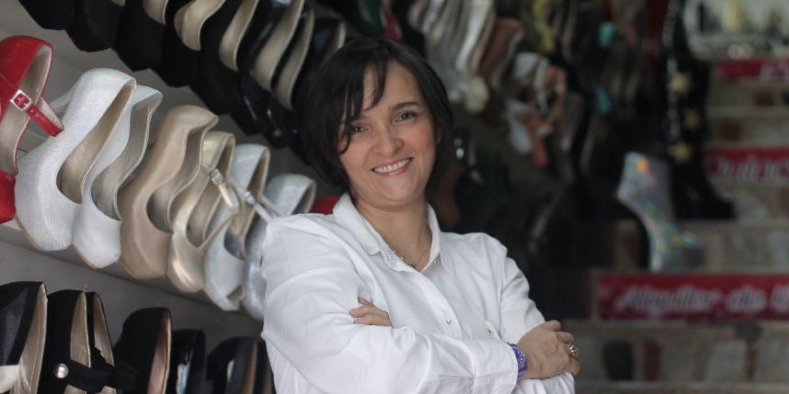 Yara Aristizabal, creadora de la marca con su mismo nombre y diseñadora de zapatos. Foto:Sofía Toscano- Publimetro