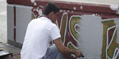 En medio de la jornada de limpieza Foto:Publimetro