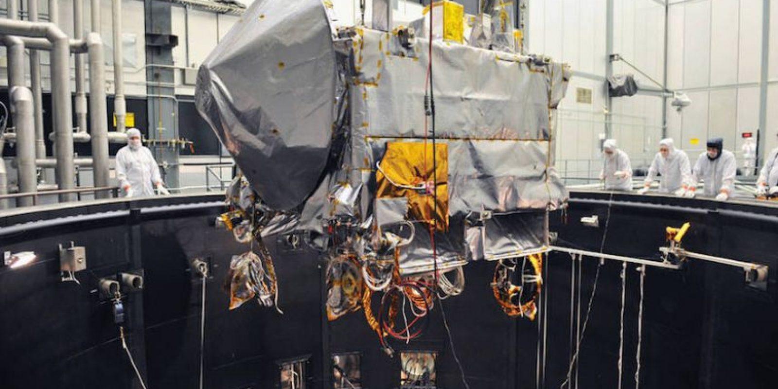 """Se cree que """"Bennu"""" es como una """"cápsula del tiempo"""" Foto:NASA"""
