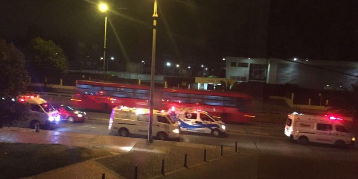 Ambulancias bloquearon entrada a Caracol TV luego de denuncia de Séptimo Día