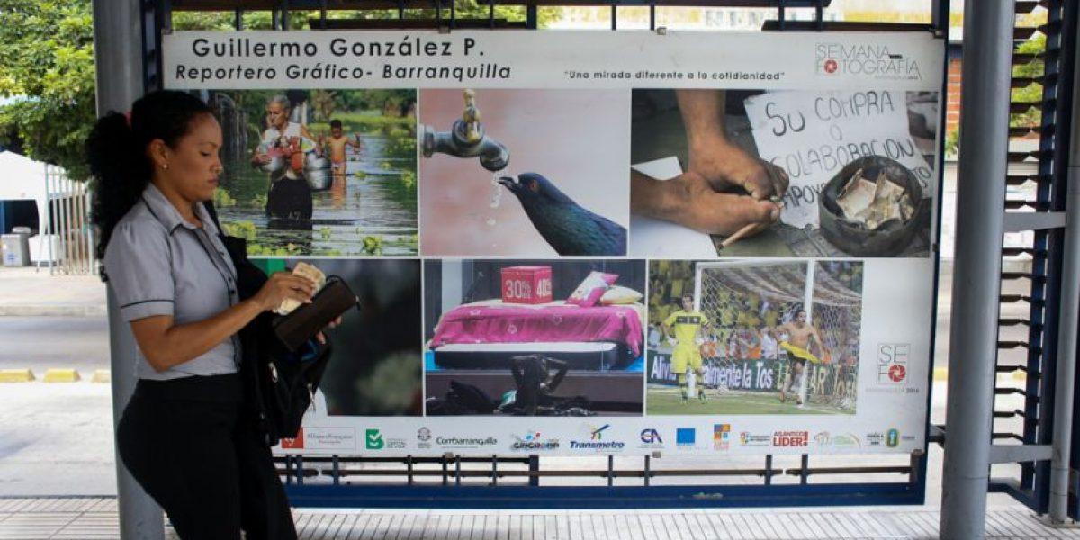 En fotos: Transmetro sede de la Semana de la Fotografía en Barranquilla